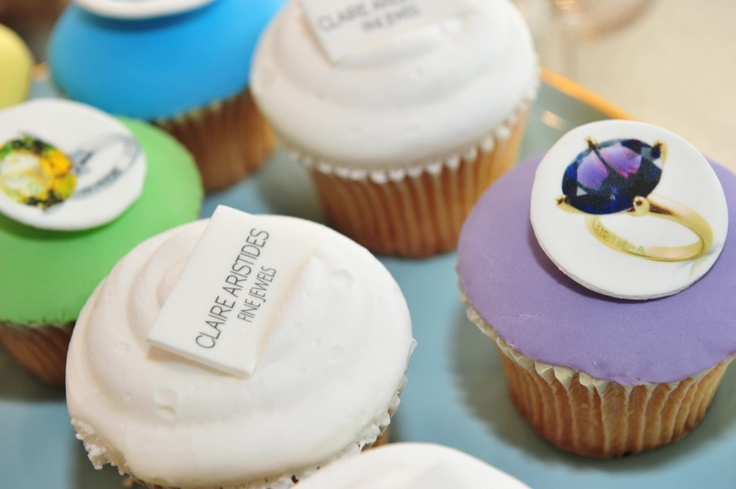 Mini cupcakes from Planet Cake...