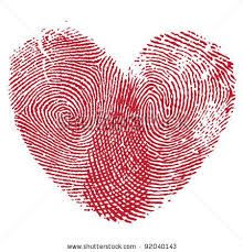 mother daughter tattoos - fingerprint of each finger made into a heart @Jennifer Hall-Cormican
