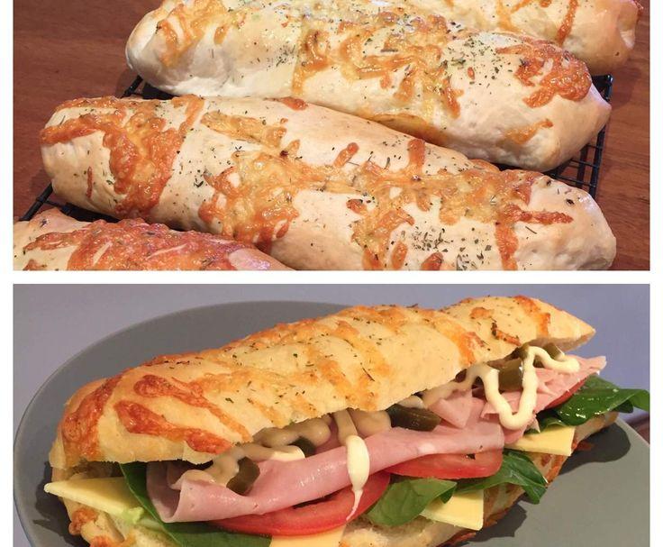 Recipe Clone of Subway Bread - Italian Herb & Cheese by Lillozza - Recipe of category Baking - savoury