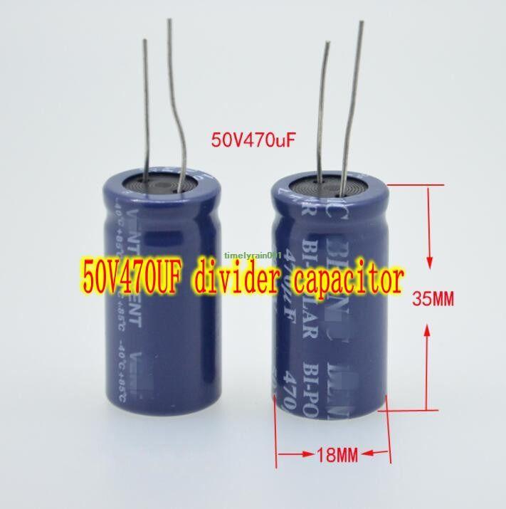 50V 470UF Audio Divider Promise Capacitor Aluminum electrolytic capacitors