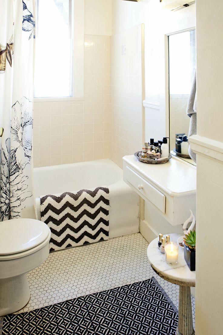 Rental apartment bathroom ideas - 6 Rental Updates That Won T Break Your Lease Or Piss Off Your Landlord Rental Bathroomapartment