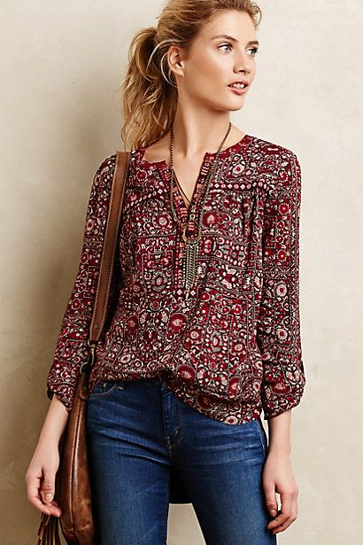 Mataura Top #anthropologie #anthrofave