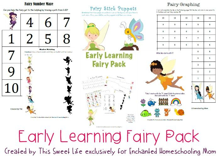 50 best learning with disney images on pinterest homeschool early learning fairy pack enchanted homeschooling mom earlylearning fairypack homeschool printable fandeluxe Gallery