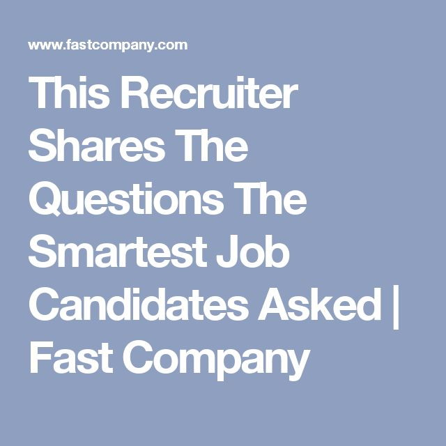 life of a recruiter