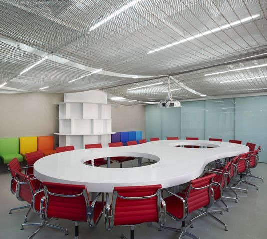 Great conference room interior design commercial for Cool office rooms