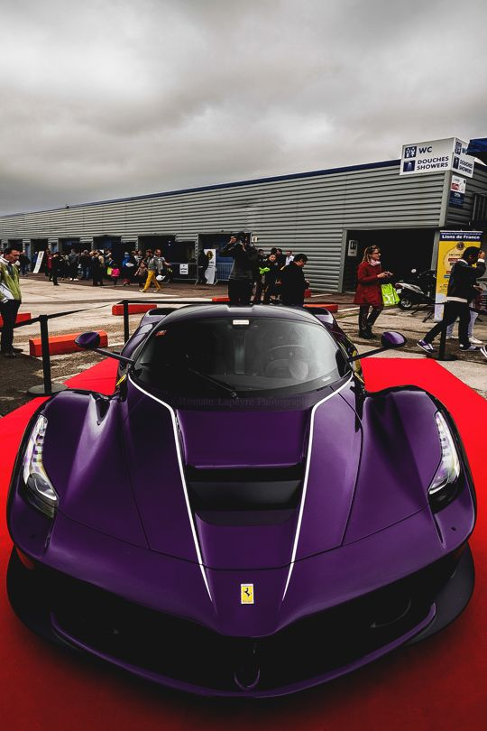 Purple Rarri LaFerrari