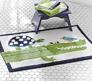It s fun for little toes to dry off on the textured back of our grinning  gator  DETAILS THAT MATTER   Bath mat is made of h ring spun cotton. 17 Best ideas about Kids Bath Mat on Pinterest   Bath mats  Bath