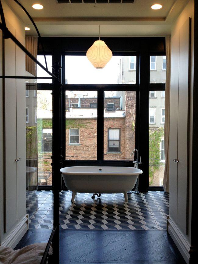 51 best geometric encaustic cement tile images on for 9x6 bathroom design