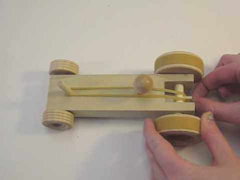 Wooden Car Kit - YouTube