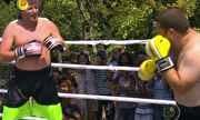 Caldeirão do Huck - Luciano Huck resolveu inaugurar o novo ringue de forma diferente | globo.tv