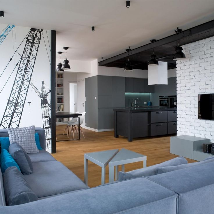 LOFT STYLE APARTMENT - comprehensive project