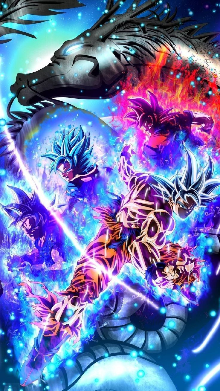 Goku Fases Dbz Fondos De Pantalla Dragon Ball Gt Personajes De