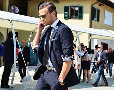 I don't know if you've heard: Italian men know style.