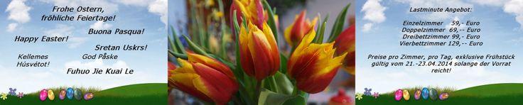 Frohe feiertage, Kaninchen zu verschenken and Osterbasteleien[R