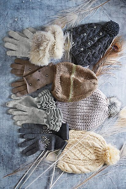 Cold Weather Essentials. Great selection | Anthropologie