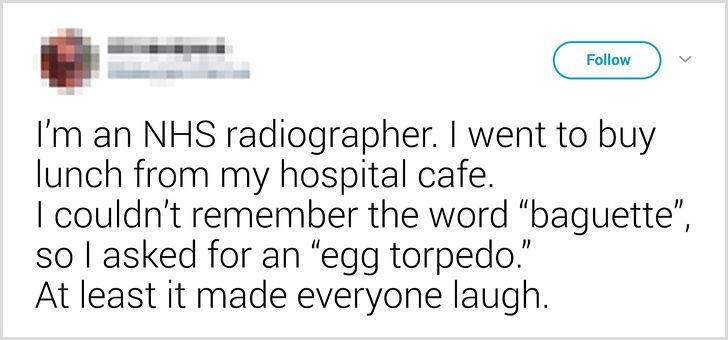 People on Twitter Share How They Forgot a Word and Came Up