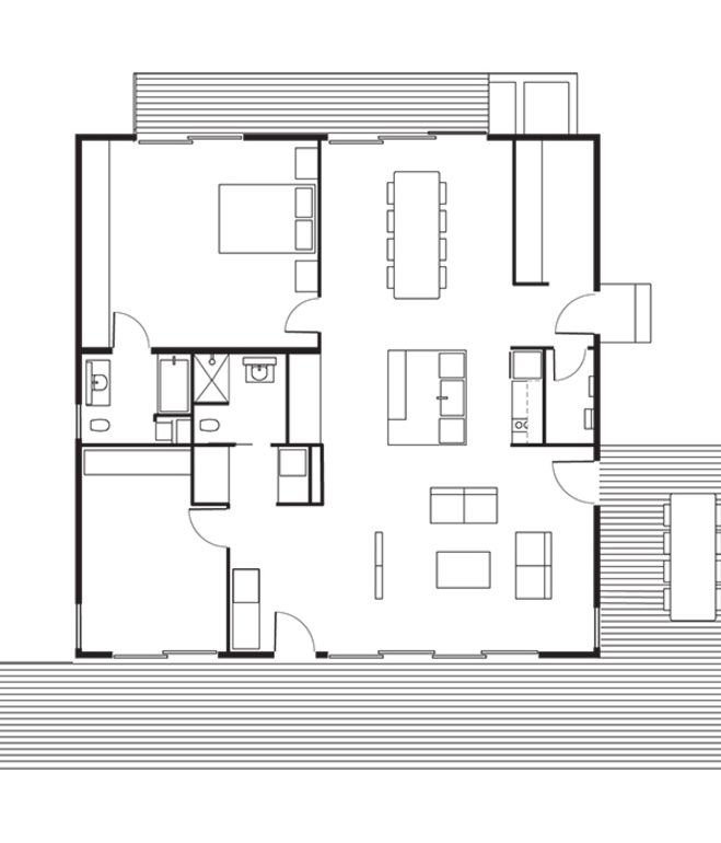 Connect 5 House Floor Plan: A Kitchen / B Dining Room / C Living ...