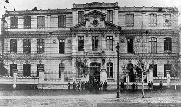 Antiguo Instituto Pedagógico de Chile : Alameda con Cumming, Santiago, 1920