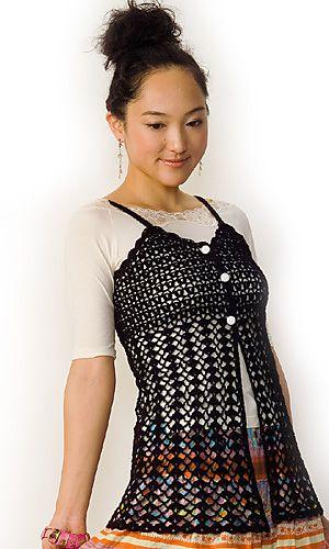 #crochet tunic - free pattern