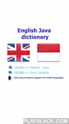 Javanese Terjemahan  Android App - playslack.com ,  User will be satisfied with this Javanese - English dictionary because: - It has the largest vocabulary- Detail description for each word and a lot of samples- Simple UI & high performance make you feel easy when using* Full support pronunciation for both English and Javanese will help you so much in study these languages. (This application can run in offline mode but need the internet connection for the pronunciation and web browser…