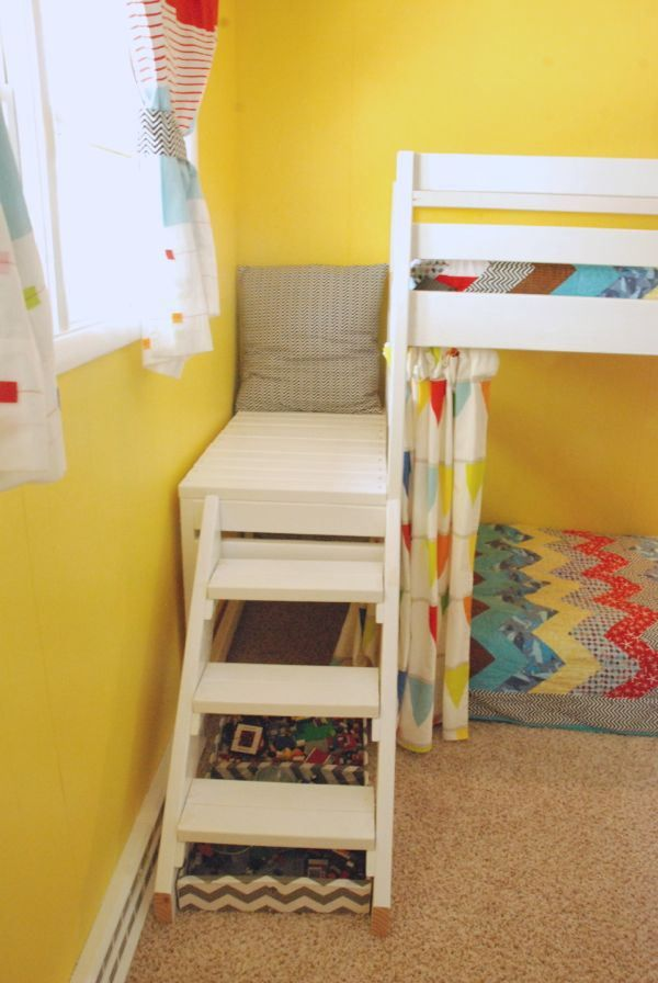 Diy Kids Loft Bunk Bed With Stairs Kid Loft Beds And Nu