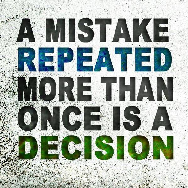 A mistake repeated more than once is a decision. #Alagappa #Institute #of #Technology