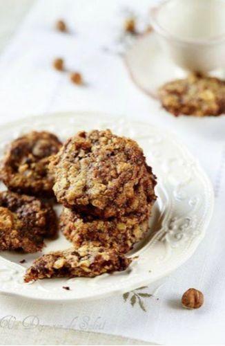 Biscuits aux flocons d'avoine et éclats de fève de cacao, sans gluten