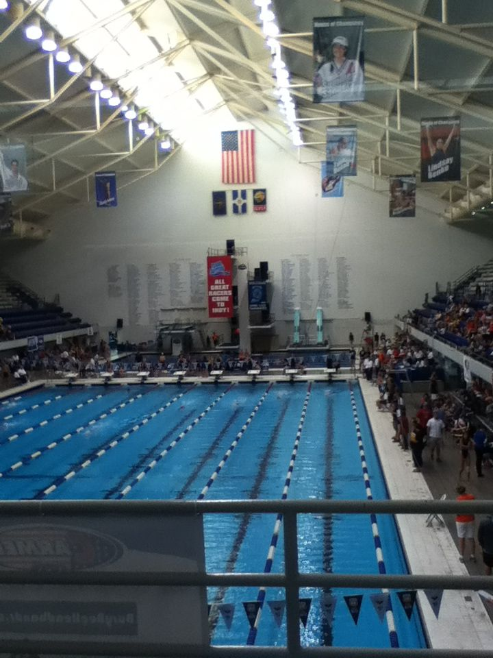 IUPUI Natatorium! I love this pool! :)