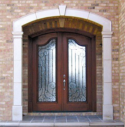 Unique Arch top Entry Door