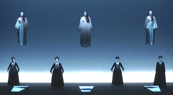 Robert Wilson's ''The Life and Death of Marina Abramovic'' at the Teatro Real in Madrid.
