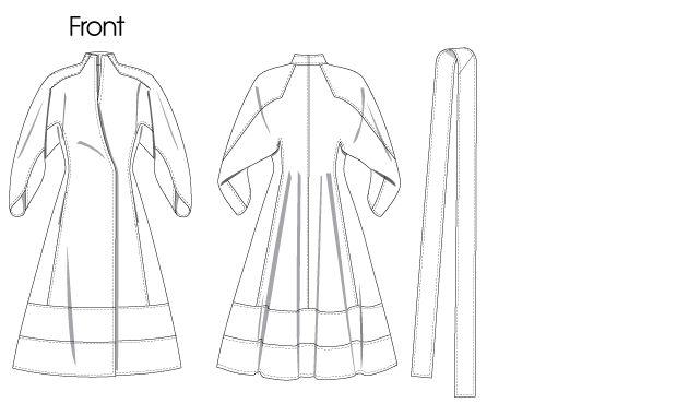 Ralph Rucci Vogue pattern V1239
