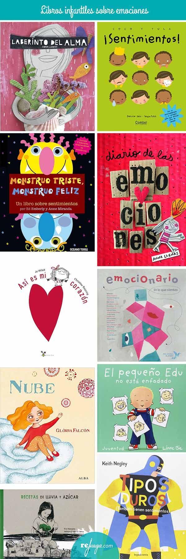 libros para niños sobre emociones