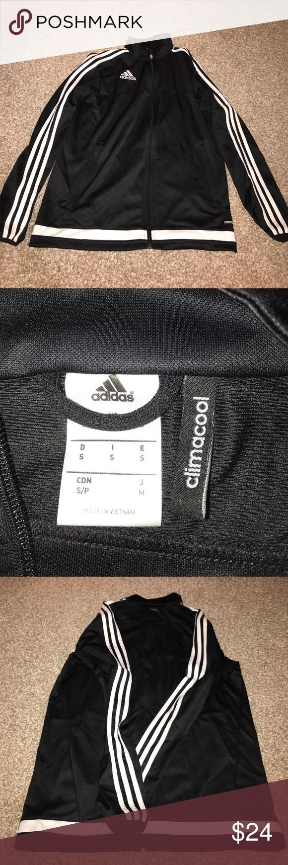 NWOT Adidas clima cool zip up NEVER WORN.zip up clima cool jacket adidas Tops Sweatshirts & Hoodies