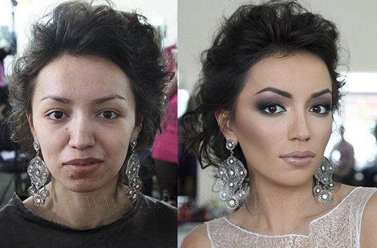 The Power of Makeup. All i can say is wow on these transformations. Someone has skills