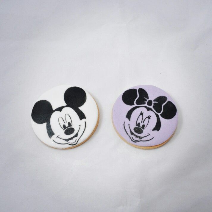 Miki mouse mini mouse cookie