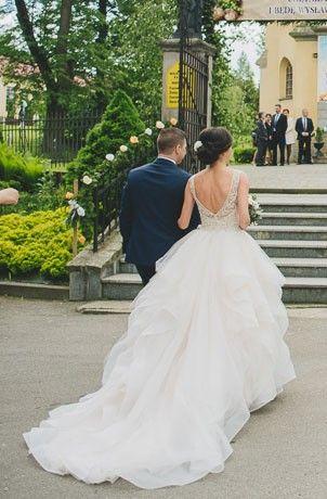 Suknie - Suknia Ślubna z kolekcji 2017 Justin Aleksander - 3 499,00zł