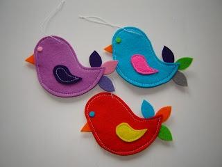 Judith♥: Vogeltjes van vilt