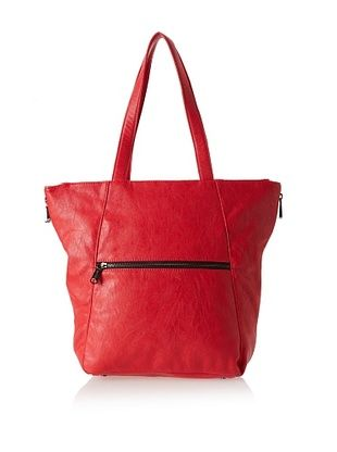 51% OFF co-lab by Christopher Kon Women's Amaya Large Tote, Red