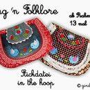 Stickmuster - ✿ Stickdatei ✿ Bag ´n Folklore ✿ IN THE HOOP ✿ - ein Designerstück von ginihouse3 bei DaWanda