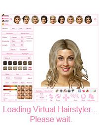 Virtual Hairstyles by TheHairStyler.com See how over 8000 hair styles would look on you with lots of colors to choose from.  A membership site costs 14.95, check retailmenot.com for a discount code to bring it down to 12.75