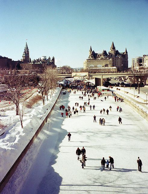 Rideau Canal - winter is coming!