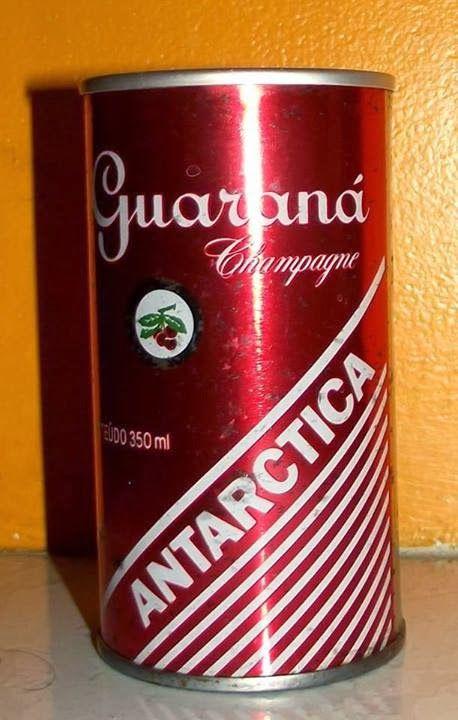 Guaraná Champagne Antarctica em lata (de lata)