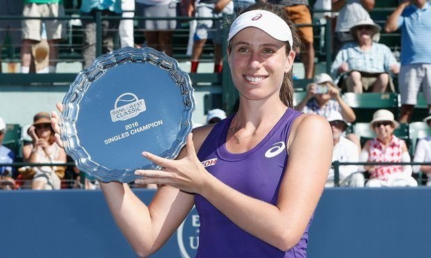 Johanna Konta won first WTA title after beating Venus Williams in Stanford