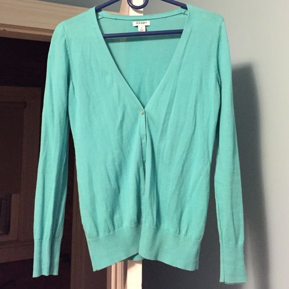 Old navy turquoise cardigan Old navy turquoise cardigan Old Navy Sweaters Cardigans