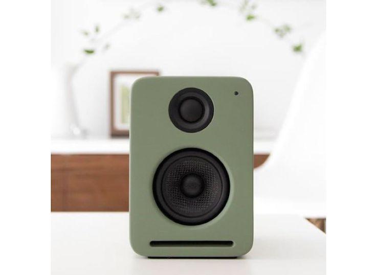 Nocs Gray Stereo Speakers | Gardenista