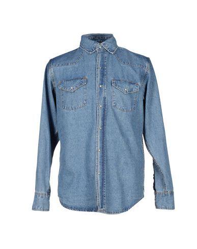Prezzi e Sconti: One x oneteaspoon camicia jeans uomo Blu  ad Euro 91.00 in #One x oneteaspoon #Uomo jeans camicie jeans