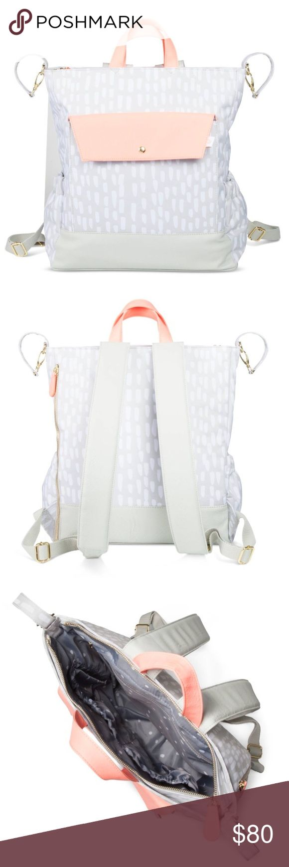 💜Backpack Diaper Bag💜 🎀Bag Type: Backpack Features: Backpack strap, Stroller strap, Zip Closure Material: Nylon Care and Cleaning: Wipe Clean with a Dry Cloth Dimensions: 15 inchesH x 7 inchesW x 13.25 inchesD Weight: 1 pounds🎀 Bags Baby Bags