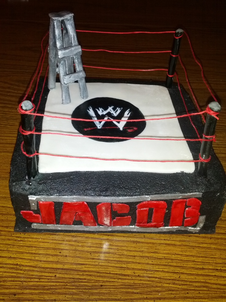How To Make A Wwe Belt Cake