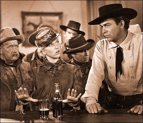 doris day calamity jane - with howard keel