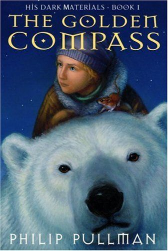 The Golden Compass<3  Such a good book.  And read the rest of His Dark Materials trilogy too.
